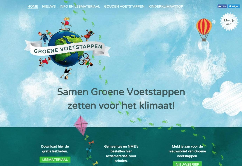 Groene Voetstappen homepage