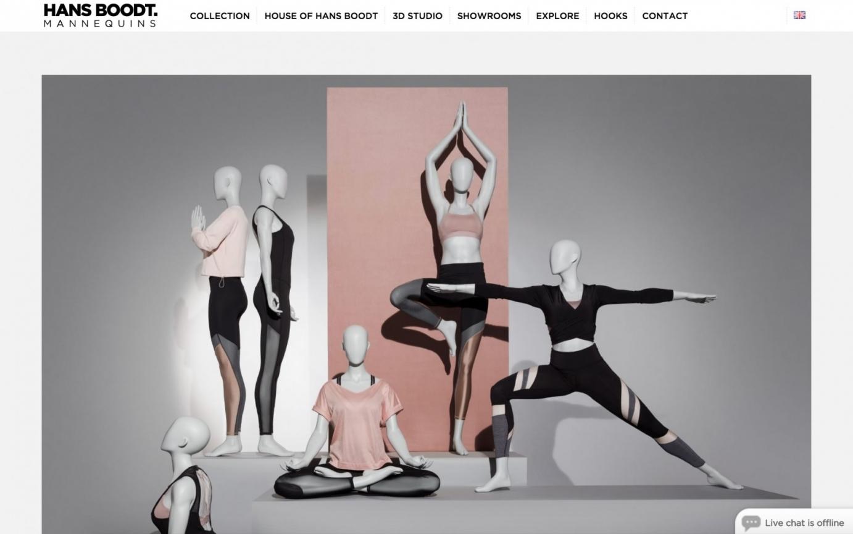 Hans Boodt Mannequins homepage