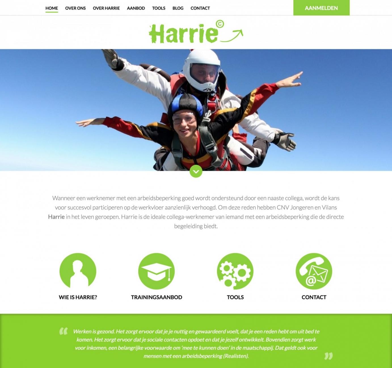 Ik ben Harrie homepage