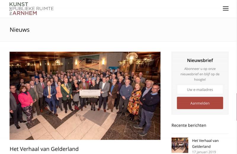 Kunst in Arnhem Nieuwsartikel